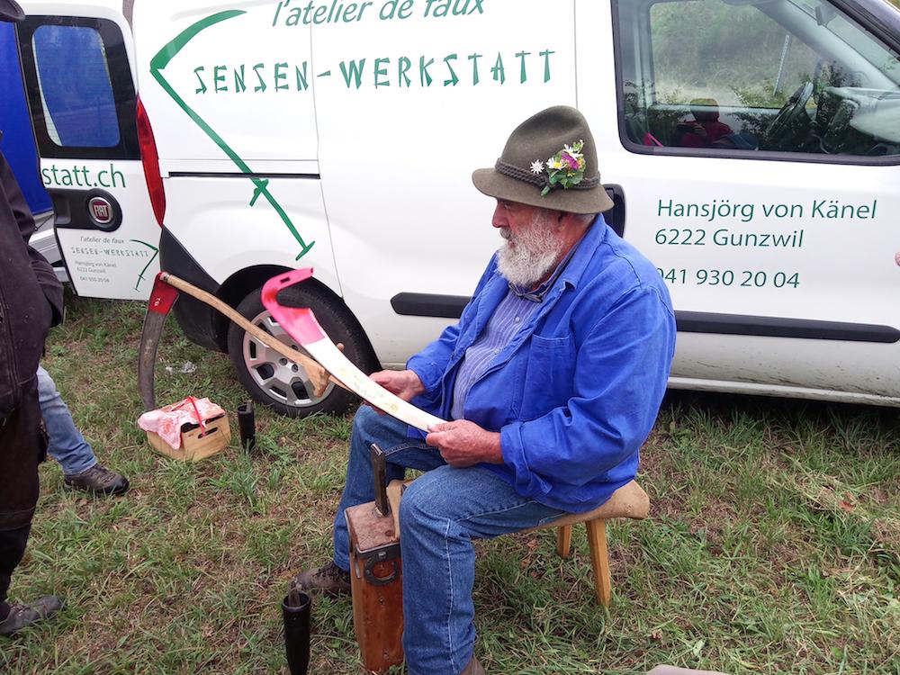 Hansjörg von Känel Sensen-Werkstatt